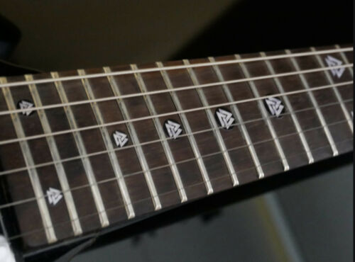 Valknut Triangles MOP Fret Markers Inlay Sticker Decal for BASS /& GUITAR