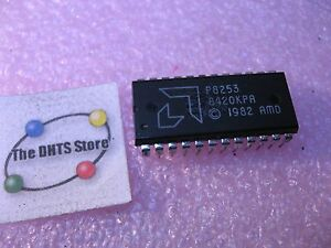 P8253-AMD-Programmable-Interval-Timer-IC-Plastic-8253-NOS-Qty-1