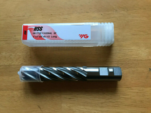 1//2/&39/&39 Diameter Coarse Tooth M42 8/% Cobalt Tialn Roughing End Mill Shank