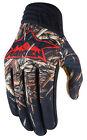 ICON Raiden DEADFALL Mesh/Leather Offroad/Dualsport Gloves (Black) Choose Size