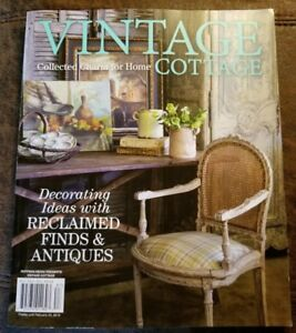 Details about Vintage Cottage December / January 2019 Home Decor Collected  Charm Brand New