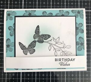 """Card Kit Set Of 4 Stampin Up All That You Are Coastal Cabana """"Birthday"""""""