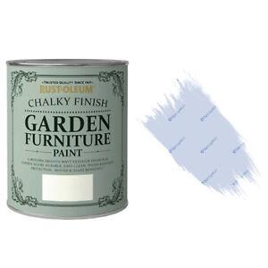 x2 Rust-Oleum Chalk Chalky Garden Furniture Brush Paint ...