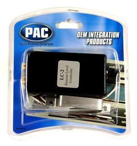 LC-2-Pac-Fernbedienung-Hi-Niedrig-Linien-Pegel-Steuerung-mit-Volume-Level