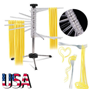 New-Folding-Kitchen-Stand-Mixer-Pasta-Drying-Dry-Stand-Rack-Noodle-Hanging-USA