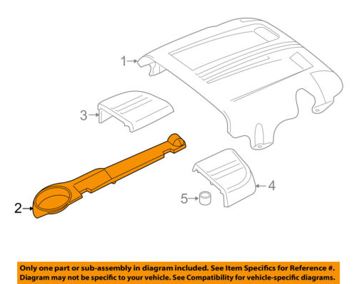 MERCEDES OEM 15-18 C63 AMG S 4.0L Engine Appearance Cover-Side Cover 1770163100