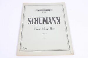 Schumann-Davidsbuendler-Opus-6-Sauer-Notenheft-Sheet-Music-Peters-2306