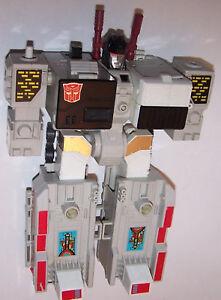 Figurine Transformateurs Metroplex Vintage 1985 Génération 1 - Autobot City