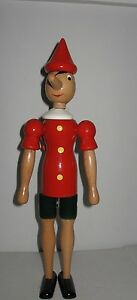 NWT-C2-Rainoldi-1981-jointed-hand-Painted-Wooden-Pinocchio-Figure-Italy-14-034