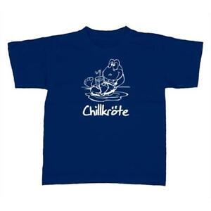 Kinder-T-Shirt-Chillkroete-Schildkroete-Fun-Style