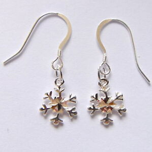 Sterling-Silver-earrings-with-Snow-Flakes-Stamped-925