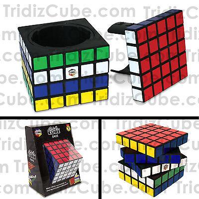 Rubik's Cube Safe 5x5x5 Black Look Alike Puzzle Novelty Gift Toy - US SELLER -
