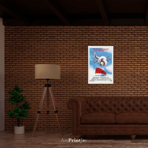 "ArtPrintPress Airplane the Movie Vintage Art Print Poster 12/""x18/"" Wall Art M1002"