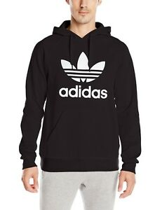 on wholesale affordable price wide varieties Details about Mens Adidas Hoodie Trefoil Sweatshirt Pullover Lotus 90's  Black S M L XL Unisex