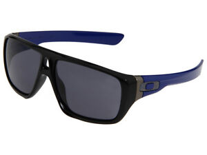 Oakley-Dispatch-Sunglasses-OO9090-13-Polished-Black-Blue-Grey