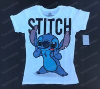 Disney Store Tee For Women Stitch Slubbed Tshirt Choose Size