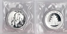 CHINA CINA PANDA SILVER 2004 1 Oz 10 YUAN Sealed China Mint Sigillato Raro