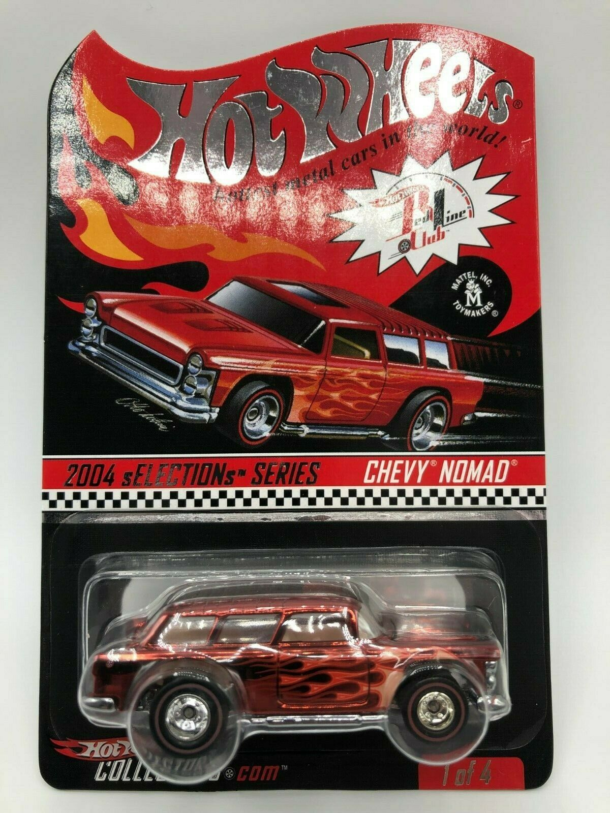 Hot Wheels 2004 sELECTIONs Series Chevy Nomad MIBP Predecto