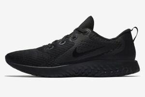 NEW-Nike-Legend-REACT-TRIPLE-BLACK-Men-039-s-Running-Shoes-AA1625-002-SIZES