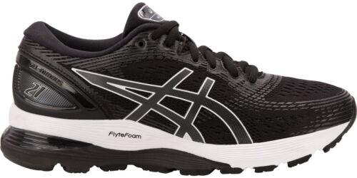 Black Asics Gel Nimbus 21 Womens Running Shoes