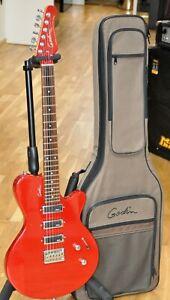2006-Godin-Triumph-Candy-Red-Sparkle-Guitar-w-Gigbag-Made-in-Canada-Like-New