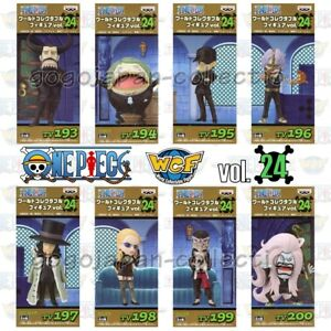 Details about ONE PIECE WCF World Collectable Figure vol 24 CP9 Complete set