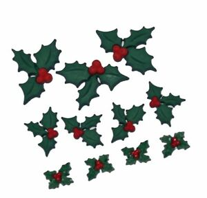 Holly Jolly Christmas.Details About Dress It Up 2478 Holly Jolly Christmas Embellishment