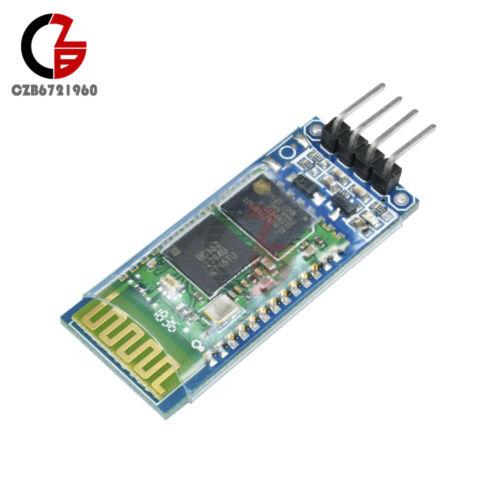 HC-06 RS232 Wireless Serial 4 Pin Bluetooth RF Transceiver Module avec fond de panier