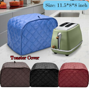 2 Piece Toaster Bakeware Cover Protector Dustproof Clean Kitchen Home