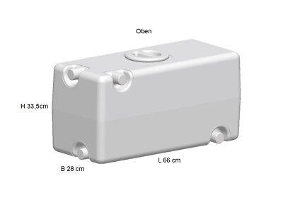 Frischwassertank Wassertank Abwassertank 30 l  Wohnmobil Wohnwagen Boot