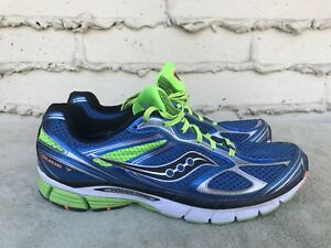 21bf66f5 Details about EUC Saucony Guide 7 Men's US 12.5 EUR 47 Blue Running Shoes S  20227-3