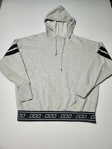 Uniquely-Lorna-Jane-Heather-Womens-Gray-Pullover-Hoodie-Sweater-Size-Small