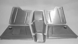 Direct Sheetmetal 1937 39 Chevy Pass Car Front Floorboard W 2 Recessed Firewall Ebay