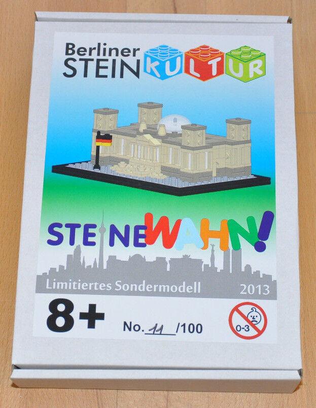 LEGO® Sondermodell Berliner Reichstag Steinkultur limitiert limitiert limitiert 100 Stück d07681