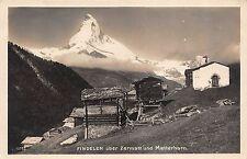 BR36300 Findelen uber Zermatt und Matterhorn     Switzerland