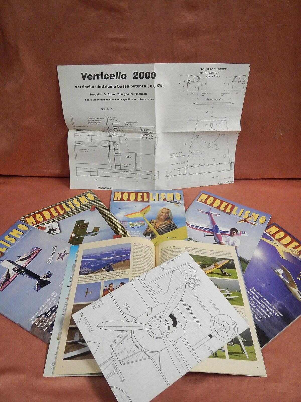 AEROmodelloLISMO RIVISTA 2001 completa modellololismo  tavole