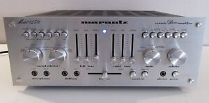 Details about MARANTZ 1250 INTEGRATED STEREO AMPLIFIER WORKS PERFECT  SERVICED FULLY RECAPPED