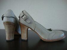 BELSTAFF AUDREY LADY Shoes Schuhe Pumps Damen Leder Antikweiß Gr.37 NEU