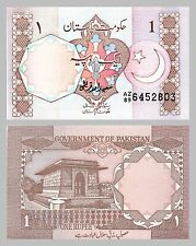 Pakistan 1 Rupee 1983 p27f unz.