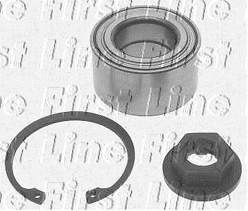 Front KEYPARTS KWB743 WHEEL BEARING KIT fit for d Focus  without ASB