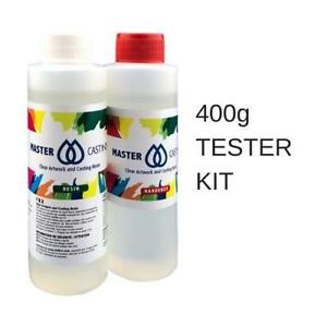 Details about MasterCast 400g Tester Kit, Clear Art Resin, Epoxy, UV  Stable, Non-Hazardous