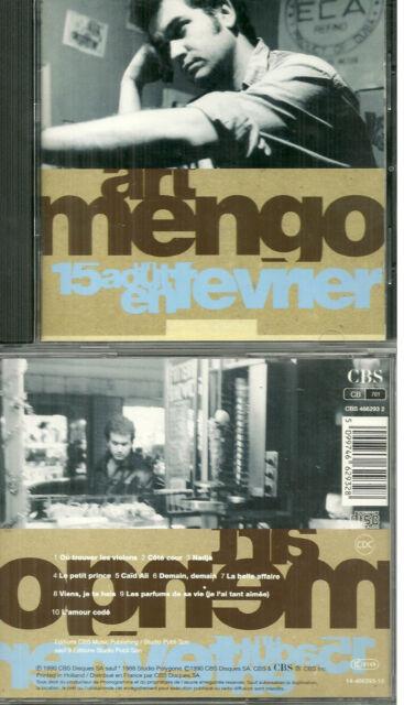 CD - ART MENGO : UN 15 AOUT EN FEVRIER / Inclus LES PARFUMS DE SA VIE