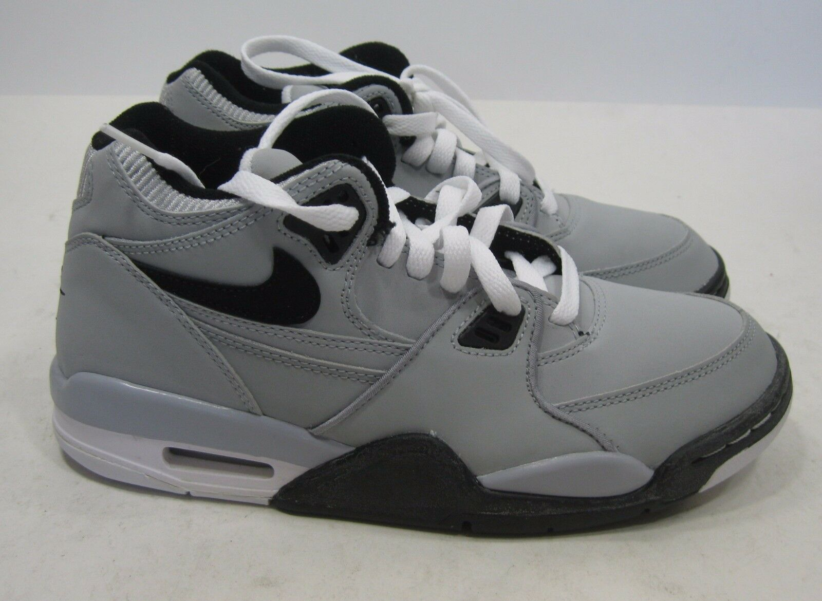 New 318003-004 Nike Air Flight '89 Wolf Grey shoes youth Size 5.5 - women size 7
