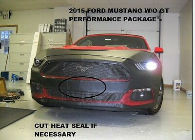 Lebra Front End Mask Cover Bra Fits Ford Fiesta 2014 2015-2019 14 15 16-19