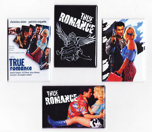 TRUE ROMANCE MOVIE POSTER MAGNETS (you're so cool print ...