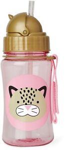 Skip Hop Zoo Paille Bouteille-leopard Enfants Paille Buvant Bouteille Entièrement Neuf Sous Emballage-afficher Le Titre D'origine Performance Fiable