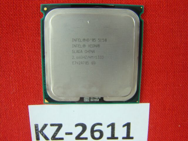 Intel Xeon Processor 5150 4M CACHE 2.66GHz 1333MHz FSB Slaga #KZ-2611