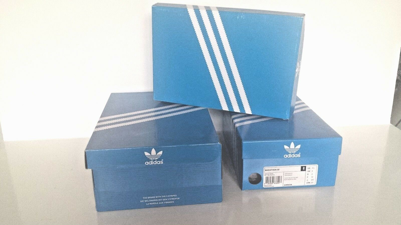 8 empty used ADIDAS trainers boxes EQT SUPORT CUSHION GUIDANCE RACING OG TR 8000 The most popular shoes for men and women