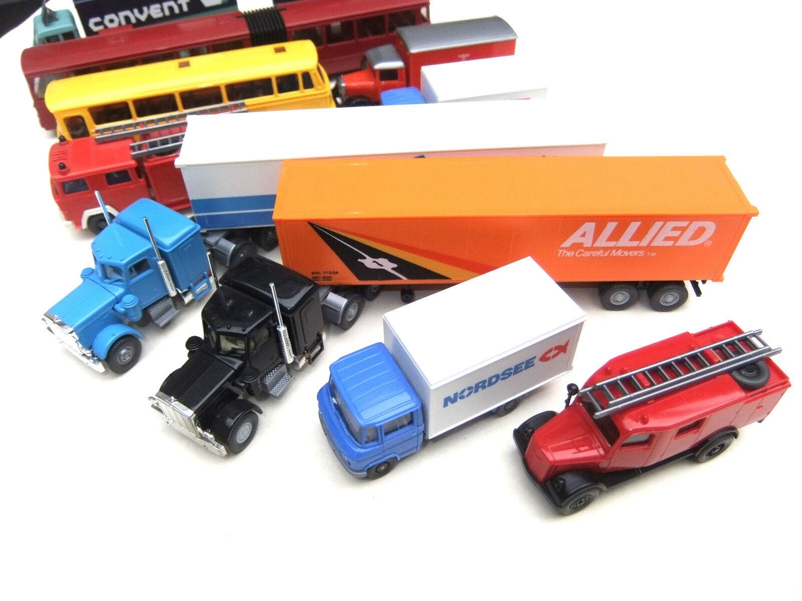 Intéressant liasse Wiking 10 pièces camion camion camion HO 1 87  4565 163 cff31d