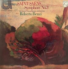 RARE Saint-Saens Symphony No.3 Vinyl LP - Hague Philharmonic Benzi 6580 070 1963